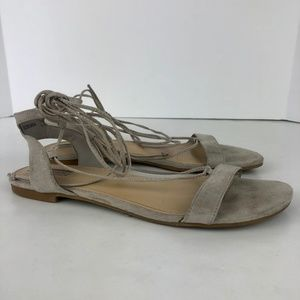 Forever 21| Faux Suede Gladiator Sandals size 9